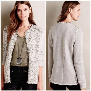 Anthropologie Elevenses Dalena jacket/ cardigan XS
